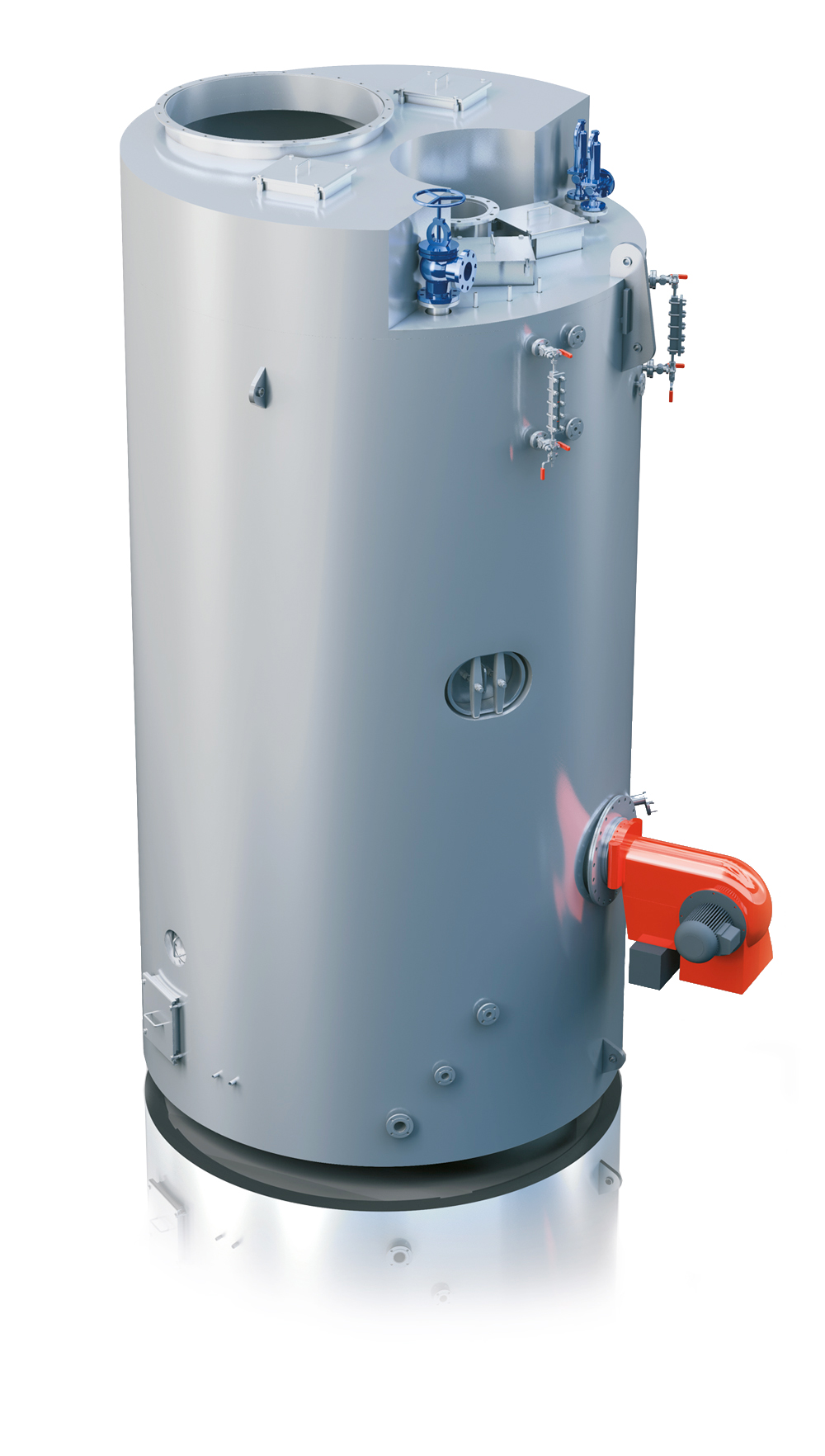 Parat Combined Oil Fired and Exhaust Gas Boiler - PARAT Halvorsen